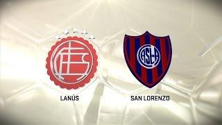Lanús vs. San Lorenzo. Fecha 14. Torneo de Primera División 2016/2017. FPT
