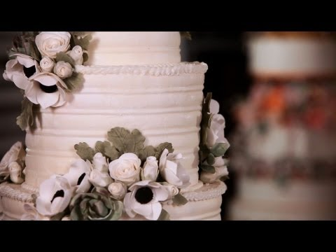 How to Arrange Sugar Flowers on Cakes | Sugar Flowers