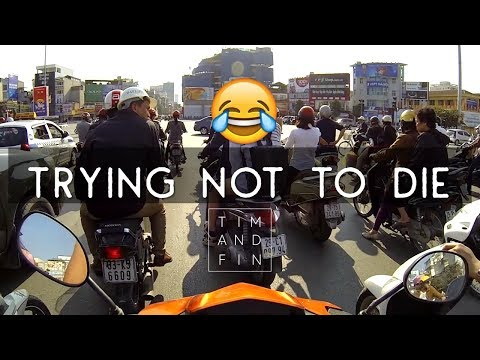 HOW TO MOTORBIKE IN VIETNAM ...AND SURVIVE?! | Hanoi, Vietnam Insane Traffic | Funny Riding Advice