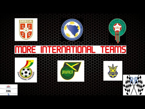 How to create more International Teams on FIFA 15