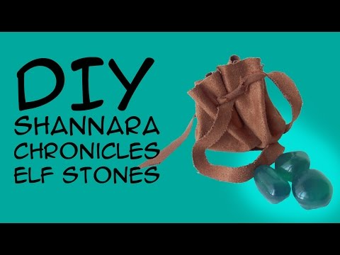 DIY Shannara Chronicles Costume Elf Stones: (For Shannara Fans) a CraftyMcFangirl.com Tutorial