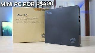 MINI PC DE R$400 DA CHINA - IDEAL PARA ESCRITÓRIO E TRABALHO!