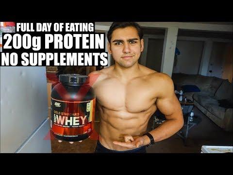 Muscle Building Diet With No Protein Supplements
