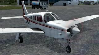 Pa-28r Arrow Iii From Just Flight - Start Up Procedure