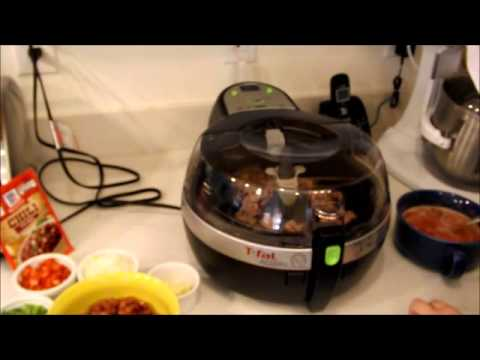 Chili with the Actifry from T-Fal