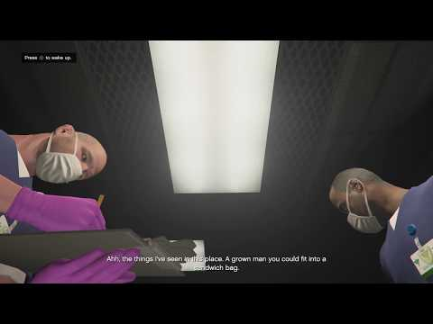 GTAV - WHAT HAPPEN IF MICHAEL DIDN'T WAKE UP IN DEADMAN WALKING MISSION