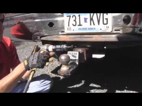 How to Loosen a Stuck Receiver Hitch