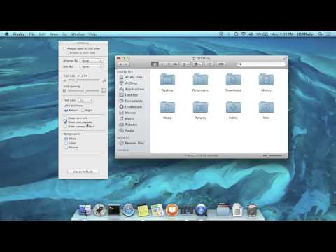 How to Show the User Library Folder in OS X Mavericks