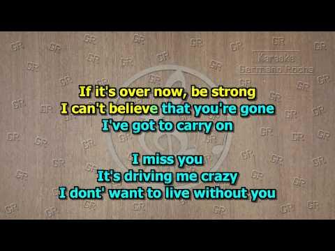 Klymaxx - I Miss You (Karaoke)