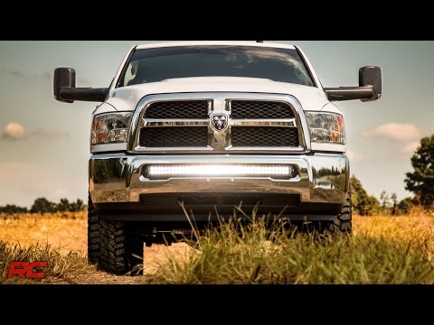 Dodge Ram 1500 Led Light Walk Around Ram 2500 Bumper Light Bar Mount