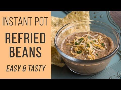 Instant Pot Refried Beans❗️Easy Pressure Cooker Frijoles Refritos