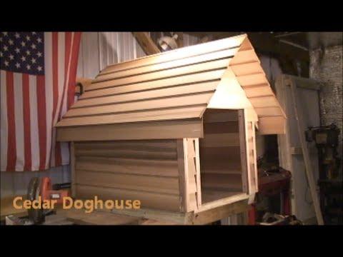 How  to Build a Cedar Doghouse