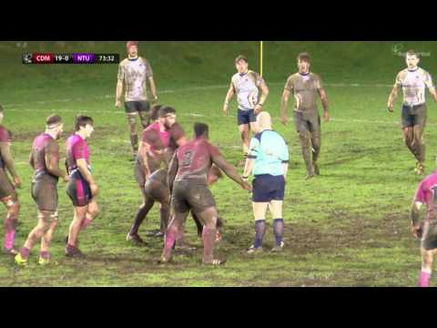 BUCS Rugby Championship: Cardiff Met v Nottingham Trent HIGHLIGHTS | Last 16 01 Mar 2017