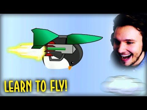 MIT DIESER GESCHWINDIGKEIT KANN MAN NICHT MITHALTEN !!   Learn to fly