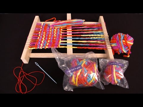 My First Weaving Loom from Lakeshore
