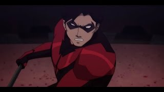Nightwing and Robin VS Deathstroke Full Fight Scene   Teen Titans