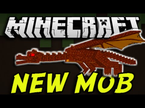 Minecraft (PS3, PS4, Xbox, PC) - NEW BOSS MOB Title Update! Enemy Dragon