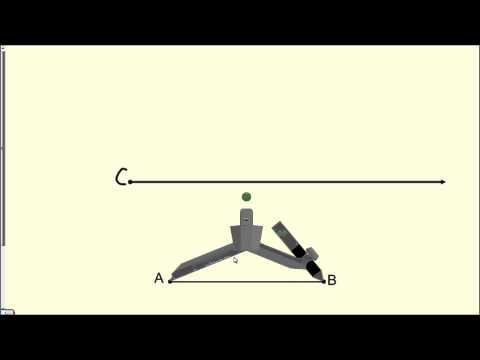 How to Copy a Line Segment - Geometry