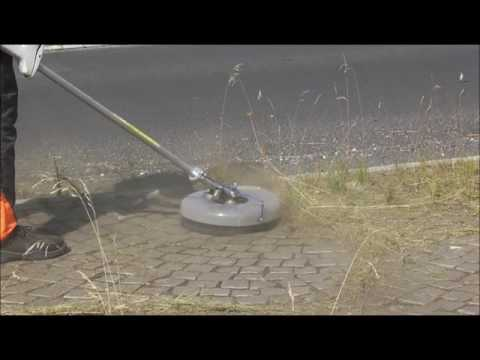 Weedgo! by Weber Buerstensystme for weed removal with garden trimmer