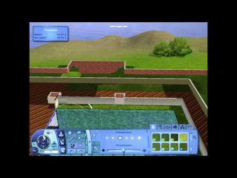 Sims 3 - Building 090612 Suzhou Garden 50x50