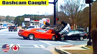 Ultimate North American Cars Driving Fails Compilation - 110 [Dash Cam Caught Video]