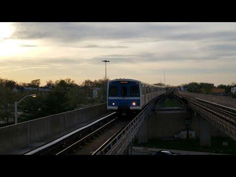 MTA MARYLAND:Metro Subway Link Arriving@West Cold Spring