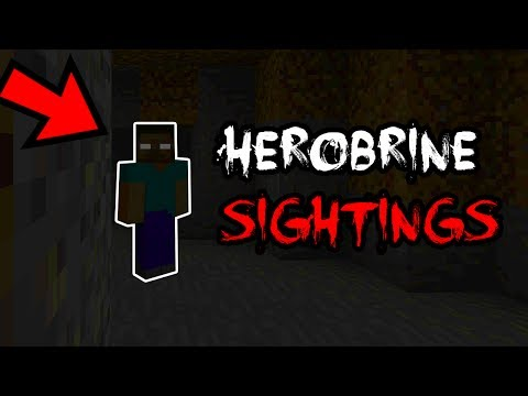 TOP HEROBRINE SIGHTINGS (Scary) (Ps3/Xbox360/PS4/XboxOne/WiiU)
