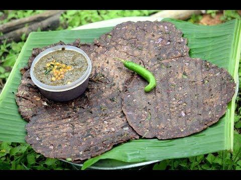 Karnataka Special Ragi Rotti | Finger Millet Roti