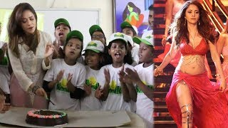 Sonu Ke Titu Ki Sweety Actress Nushrat Bharucha Celebrates Her Birthday With Smile Foundation Kids