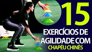 EXERCÍCIOS PARA TREINO FUNCIONAL | Treino de Agilidade com Chapéu Chinês | Natural Fitness