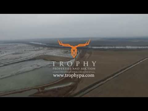 Income Producing Tillable Ground & Waterfowl Hunting Development Site for Sale