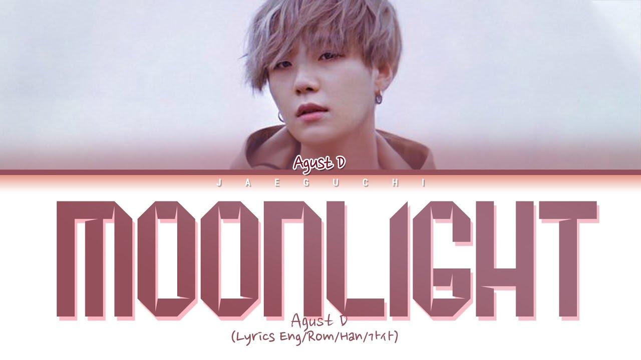 Agust D - Moonlight