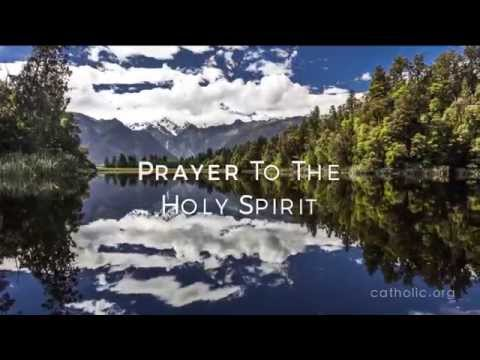 Prayer To The Holy Spirit HD