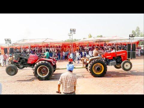 Mahindra arjun 605 pappi vs swaraj 855 balhwan tractor tochan - The
