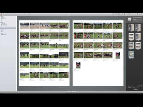 #3 iPhoto- Creating Contact Sheet & Albums