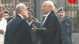 Akram Sheikh, Barrister Zafarullah exchange harsh words