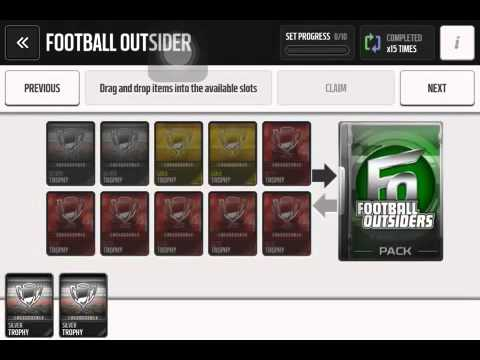 Madden Mobile Football Outsiders Set: MOST CLUTCH PULL EVER