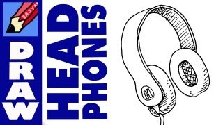 How to draw a pair of headphones real easy music jinni for Something hard to draw
