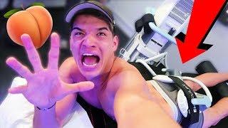 Weirdest Workout EVER! (20,000 Squats in 30 MINUTES!)