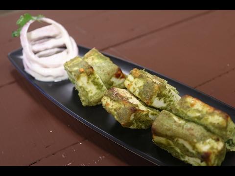 Hara Bhara Paneer Tikka   Simple Vegetarian Khana With Chef Saurabh   Sanjeev Kapoor Khazana