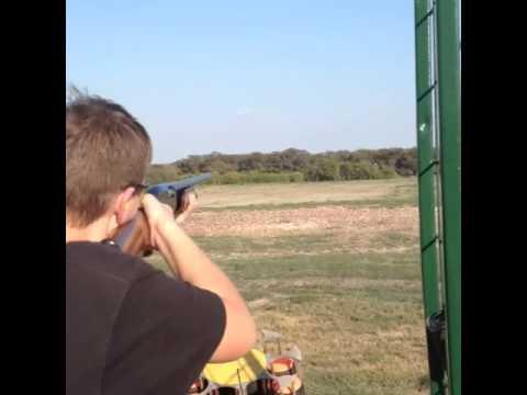 Shooting my Remington 870 Wingmaster