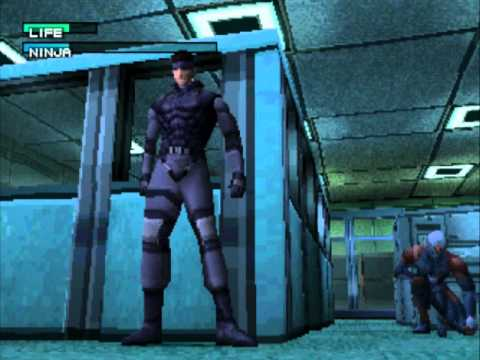 Metal Gear Solid (PSX) - Vizzed.com GamePlay