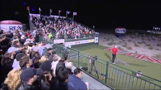 2014 World Long Drive Championship - Jamie Sadlowski vs The Total Package - QUARTERFINALS Paiute