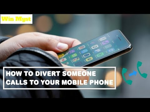 How to divert someone calls to your phone [Hindi    Urdu ] with Sub