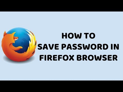 How To Save Password in Firefox Browser   Mozilla Firefox Easy Tutorials In Hindi