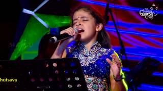 """Spoorthi Rao singing """"Bhare Naina"""" @ 54th Bengaluru Ganesh Utsava"""