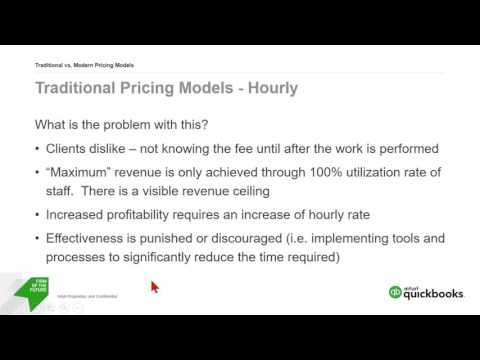 Pricing your Accounting Services with QuickBooks Online and Wholesale Discount