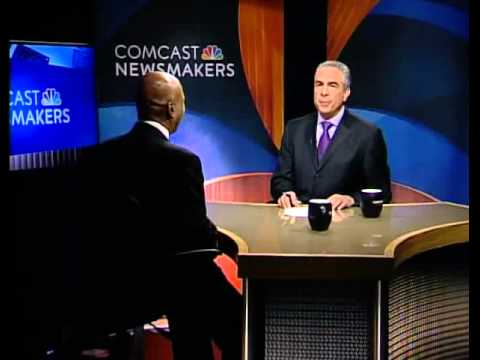 Secretary of State Jesse White interviewed on Comcast Newsmakers program by Paul Lisnek