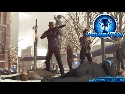 Detroit Become Human - CONFRONTATION Trophy Guide (Markus attacks Police)