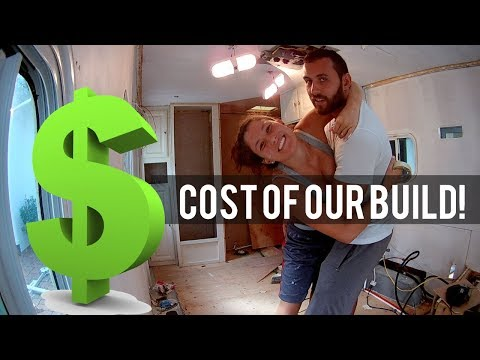 $5K Camper Conversion   Our Tiny House Cost